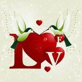 Conceito do dia do Valentim Imagem de Stock