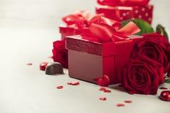 Conceito do dia do ` s do Valentim Imagens de Stock Royalty Free