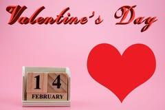 Conceito do dia do ` s do Valentim Imagem de Stock