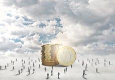Conceito do dinheiro Imagens de Stock Royalty Free