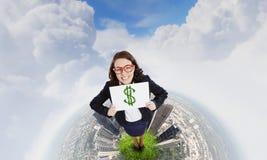 Conceito do dinheiro Imagem de Stock Royalty Free