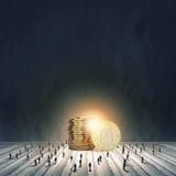 Conceito do dinheiro Imagem de Stock