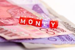 Conceito do dinheiro Fotos de Stock Royalty Free