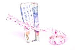 Conceito do dinheiro apertado Fotografia de Stock