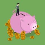 Conceito do dinheiro da economia Imagens de Stock