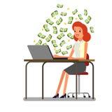 Conceito do dinheiro grande ilustração do vetor
