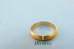 Conceito do divórcio Fotos de Stock Royalty Free