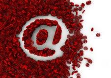 Conceito do email Foto de Stock