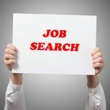 Conceito do emprego de Job Search Career Hiring Opportunity Foto de Stock Royalty Free