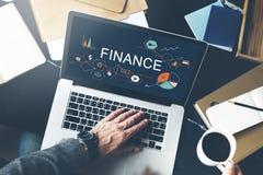 Conceito do equilíbrio de crédito do débito do dinheiro da finança fotos de stock