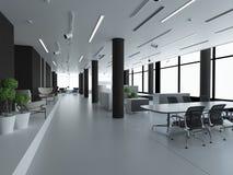 Conceito do escritório vazio novo Foto de Stock