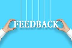 Conceito do feedback Foto de Stock