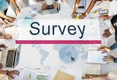 Conceito do feedback de informação da avaliação das soluções da avaliação Fotografia de Stock Royalty Free