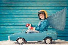Conceito do feriado de inverno do Xmas do Natal Imagens de Stock