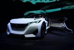 Conceito do Fractal de Peugeot nos carros de IAA Imagem de Stock Royalty Free