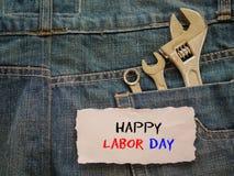 Conceito do fundo do Dia do Trabalhador Fotografia de Stock Royalty Free