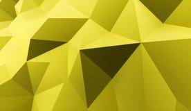Conceito do fundo do triângulo rendido ilustração royalty free