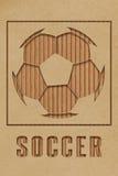 Conceito do futebol Imagens de Stock