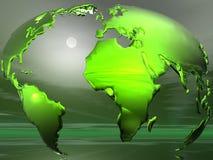 Conceito do globo Fotografia de Stock