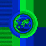 Conceito do globo Imagem de Stock