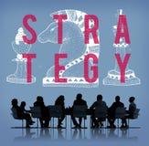 Conceito do gráfico de Chess Piece Strategy do cavaleiro ilustração do vetor