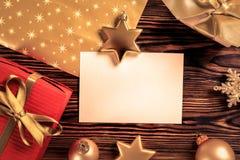 Conceito do humor do Natal Fundo festivo por feriados de inverno foto de stock royalty free