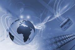 Conceito do Internet Foto de Stock