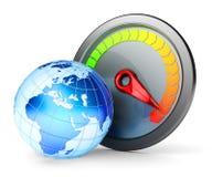 Conceito do Internet de alta velocidade Fotografia de Stock