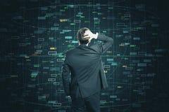 Conceito do Internet e da tecnologia imagem de stock royalty free