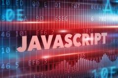 Conceito do Javascript Imagens de Stock