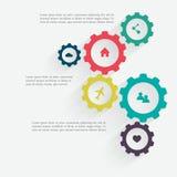 Conceito do mecanismo do negócio Foto de Stock Royalty Free