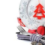 Conceito do menu do Natal Fotos de Stock Royalty Free