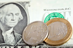 Conceito do mercado de troca da moeda Imagem de Stock Royalty Free