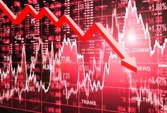 Conceito do mercado de valores de ação Imagem de Stock Royalty Free