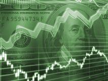 Conceito do mercado de valores de acção Imagens de Stock