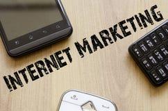 Conceito do mercado do Internet imagem de stock royalty free