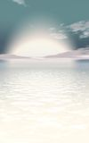 Conceito do nascer do sol Foto de Stock