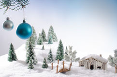 Conceito do Natal Foto de Stock