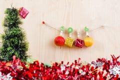 Conceito do Natal, fundo abstrato pelo ano novo feliz 2016 Fotos de Stock Royalty Free