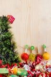 Conceito do Natal, fundo abstrato pelo ano novo feliz 2016 Fotos de Stock