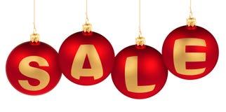 Conceito do Natal ou da venda do ano novo fotografia de stock