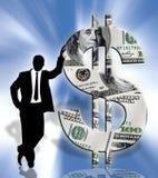 Conceito do negócio ilustração royalty free