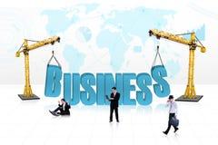 Executivos do desenvolvimento - isolado ilustração do vetor