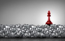 Conceito do negócio da xadrez ilustração do vetor