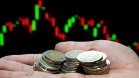 Conceito do negócio de fazer o dinheiro no investimento foto de stock