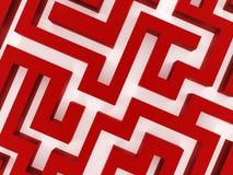 Conceito do negócio de Labirinth rendido ilustração royalty free