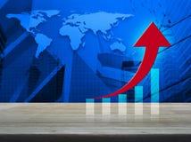 Conceito do negócio do sucesso, elementos desta imagem fornecidos pelo NA Foto de Stock