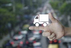 Conceito do negócio do transporte Fotos de Stock Royalty Free