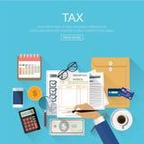 Conceito do negócio para a finança Ilustração do vetor fotografia de stock