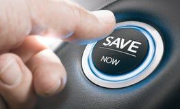 Conceito do negócio, vendas do carro, as melhores ofertas Fotos de Stock Royalty Free